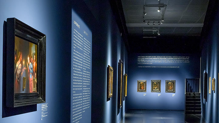Wallraf Richartz Museum - PerfectBeam lighting application for museums