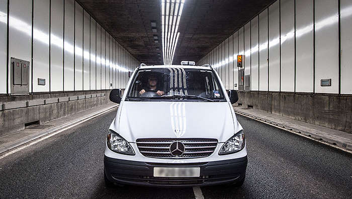 Meir Tunnel illuminated effectively with Philips TotalTunnel