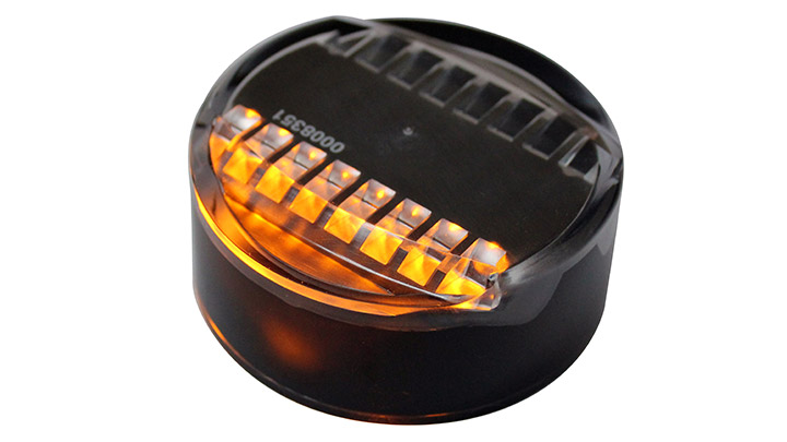 Tunnel Lane Marker: LED marker lights for lanes and center lines and managing tidal flow