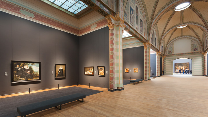 Different spaces in the Rijksmuseum Amsterdam – Philips Lighting